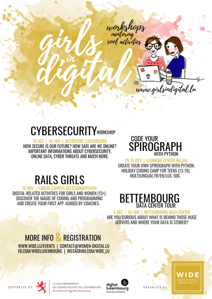 girlsindigital flyer