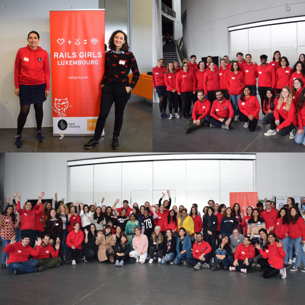 Rails girls event september 2019 group picture